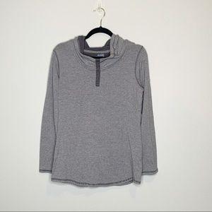 Columbia Long sleeve women shirt with hood Large